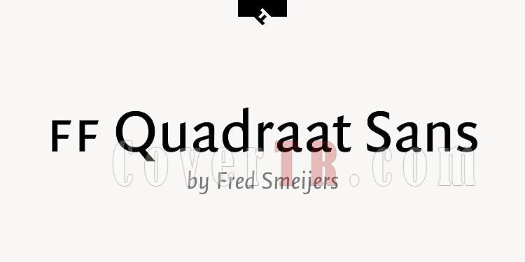 FF Quadraat Sans TR Font-109144jpg