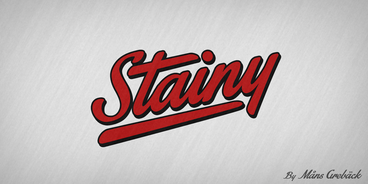 Stainy Font-124986jpg
