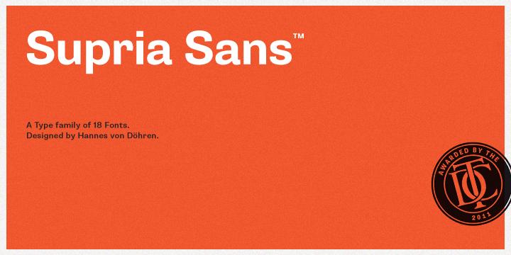 Supria Sans Font-65573jpg