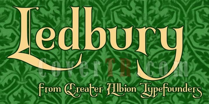 Ledbury Font-190234jpg