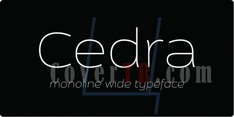 Cedra 4F Font-99344jpg