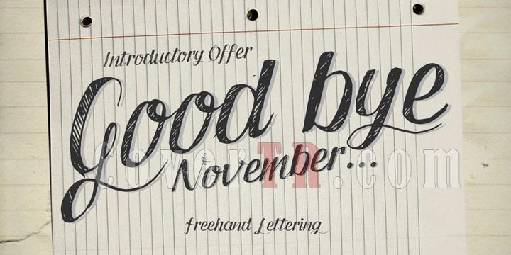Good Bye November Font-1418561519_good-bye-novemberjpg