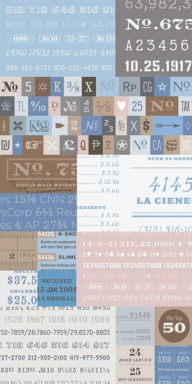 Numbers Font-coverjpg