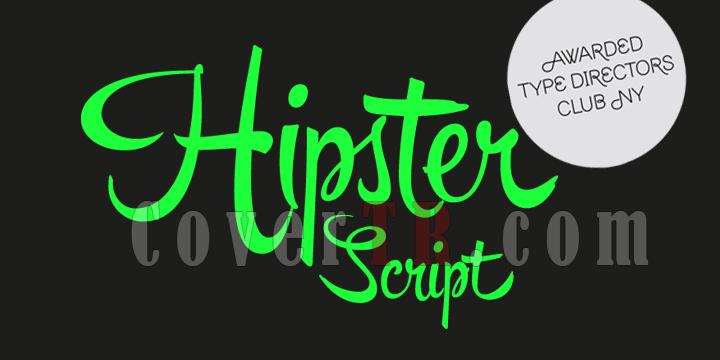 Hipster Script Pro Font-88012png
