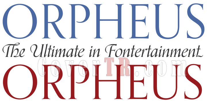 Orpheus Pro - The Ultimate in Fontertainment 21xOTF Font-190568png