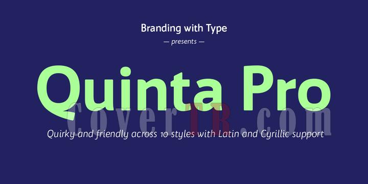 Bw Quinta Pro Font-186650png