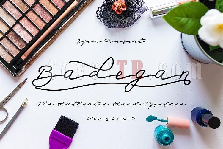 Badegan Script Font-preview-01-ojpg