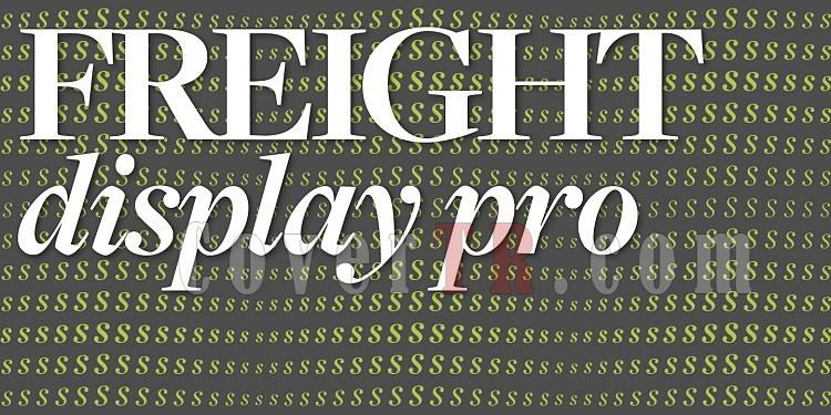 Freight Display Pro Font-199658jpg