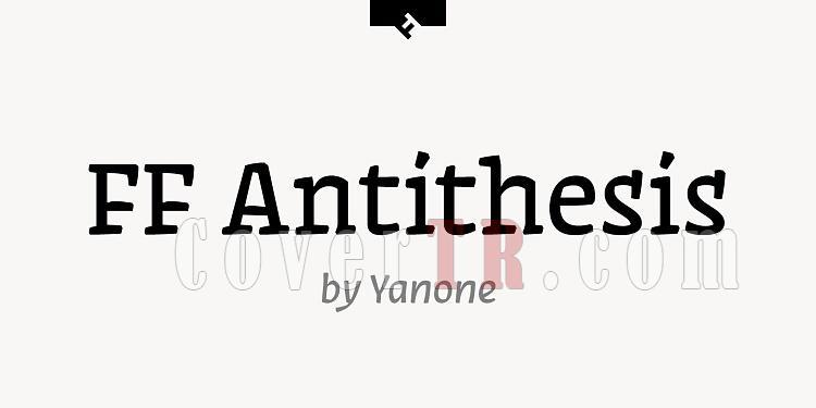 FF Antithesis Font-138923jpg
