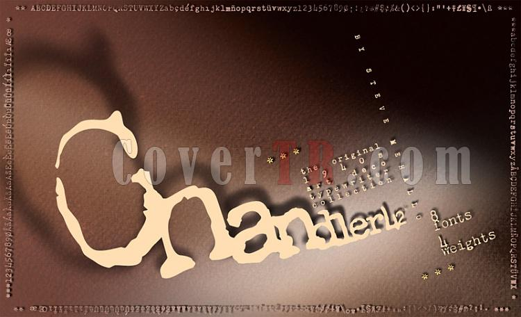 Chandler 42 Font-16592jpg