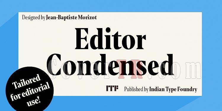Editor Condensed Font-209007jpg