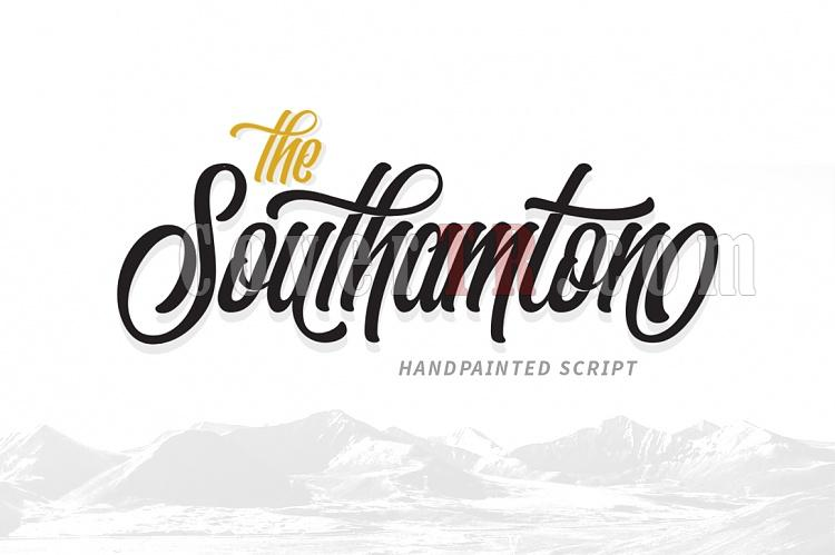 The Southamton Font-01-ojpg