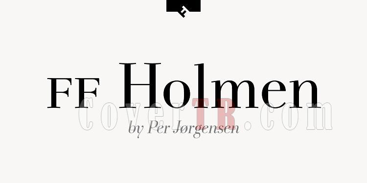 FF Holmen Font-109101jpg