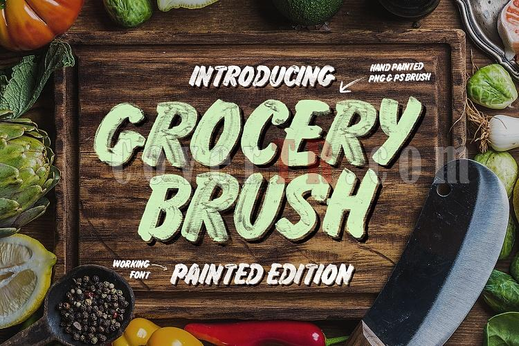 Grocery Brush Font-main-preview-ojpg