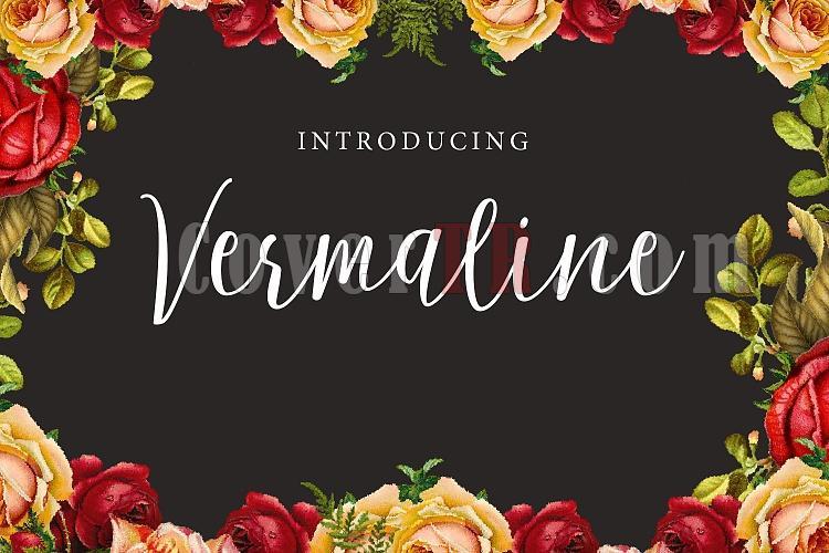 Vermaline Font-vermaline-ojpg