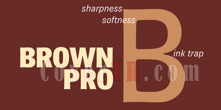 Brown Pro Font-201659png