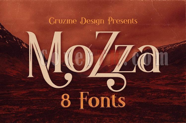 Mozza Typeface Font-mozza1-ojpg