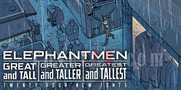 Elephantmen Great and Tall (Comicraft)-49699jpg