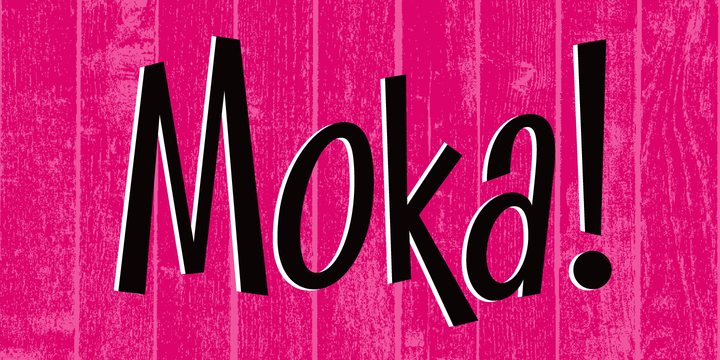 Moka font-236394jpg