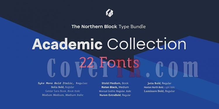 The Northern Blocks Academic Collection font-226157jpg
