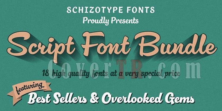 Schizotype Script Collection font-225468jpg