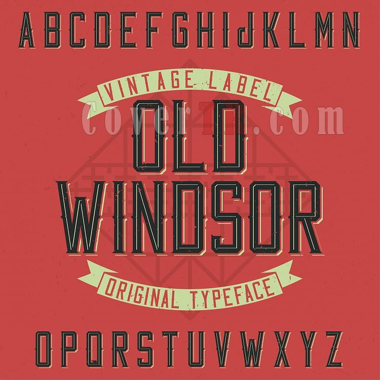 Old Windsor Typeface Font-1702p01v01oldwindsor_fontjpg