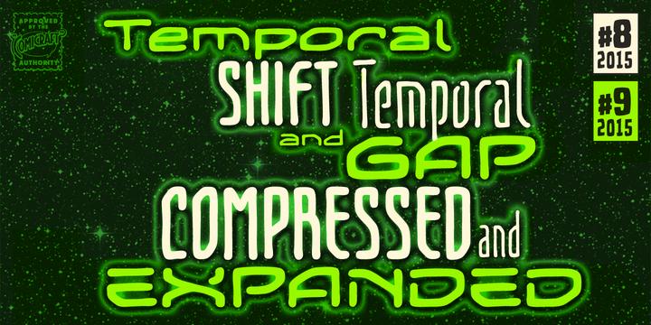 Temporal Shift and Temporal Gap Compressed Font-196630jpg