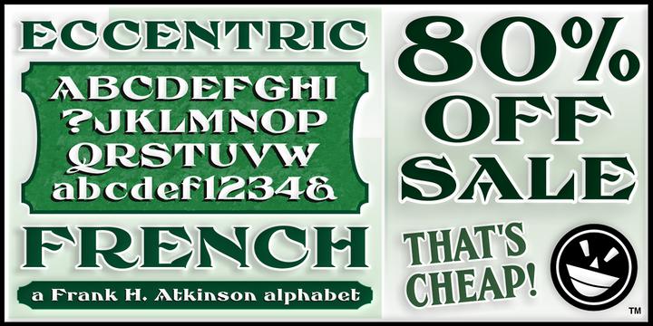 FHA Eccentric French Font-125310jpg