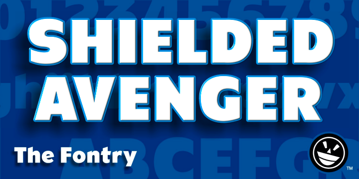 CFB1 Shielded Avenger Font-85025jpg