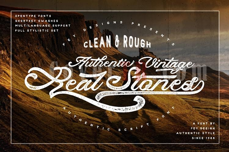 Real Stones Font-real-stonesjpg