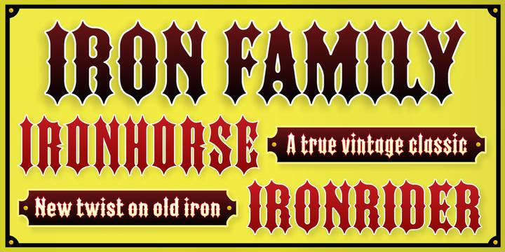 Iron Font-134550jpg