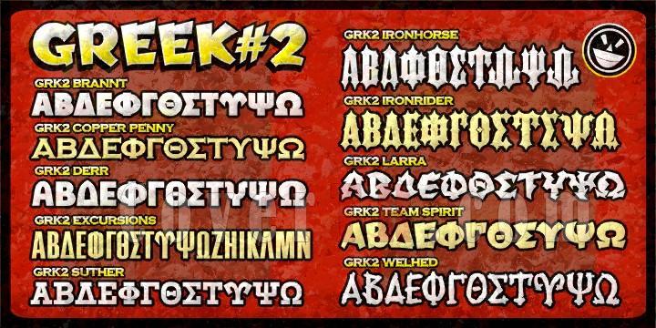 Greek Font Set #2 Font-26332jpg