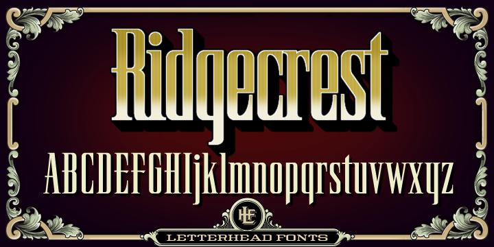 LHF Ridgecrest Font-81111jpg