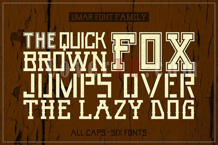 UMAR - 6 Font Family-display1_umar-jpg
