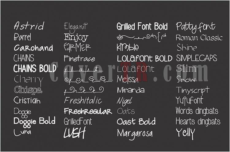 The Carolina Fonts Bundle-bundle2-jpg