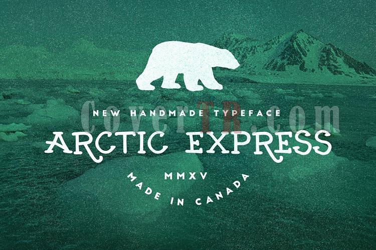 Arctic Express Display Font-tf2jpg