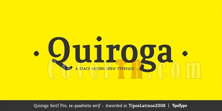 Quiroga Serif Pro Font Family-quiroga1_ttjpg