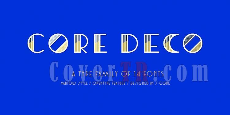 Core Deco Font Family-136864jpg