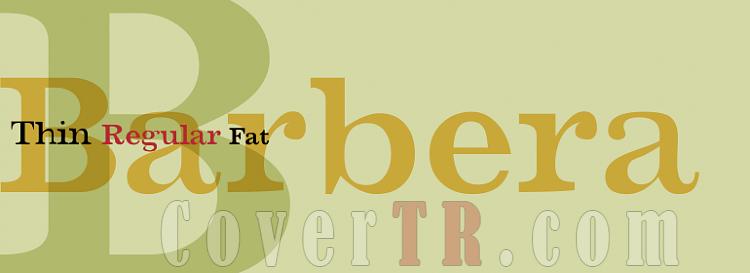 Barbera (T-26) Font-273699png