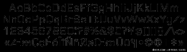 Myers Sans (T-26) Font-thumbnailpng