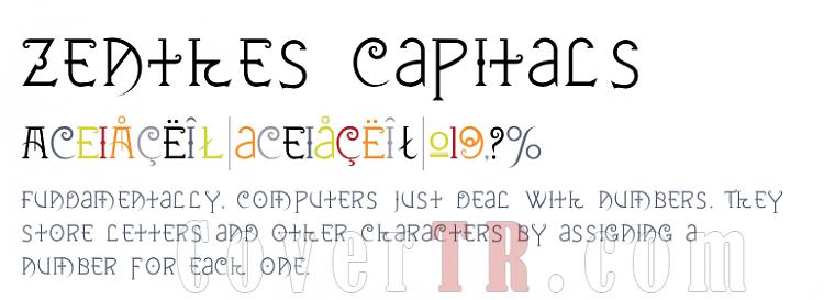Zenthes (T-26) Font-646455png
