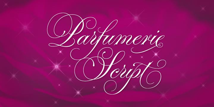 Parfumerie Script Pro (Typesenses) Font-59756jpg