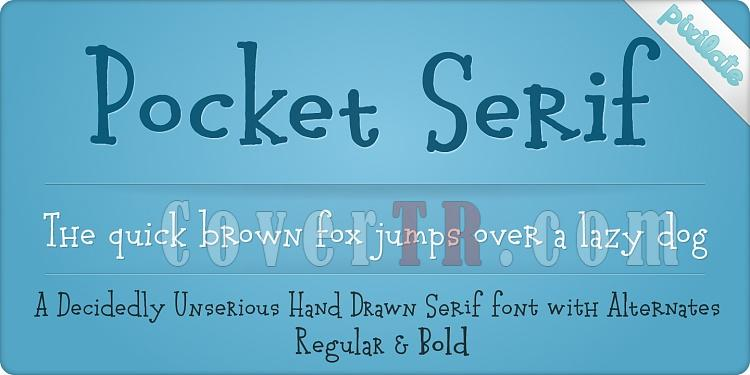 Pocket Serif Px (Pixilate)-126079jpg