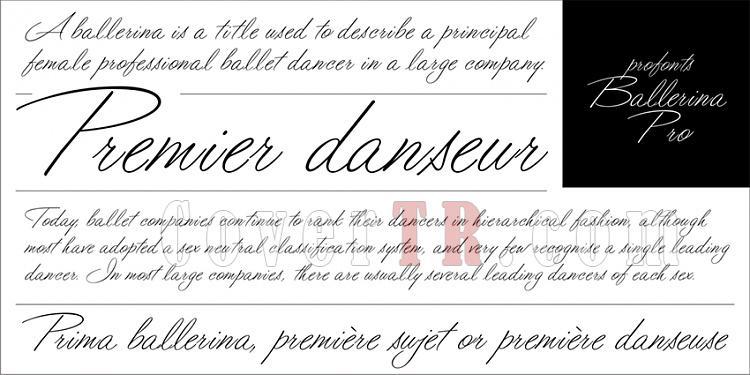 profonts Ballerina Pro (URW)-profontsballerina-projpg