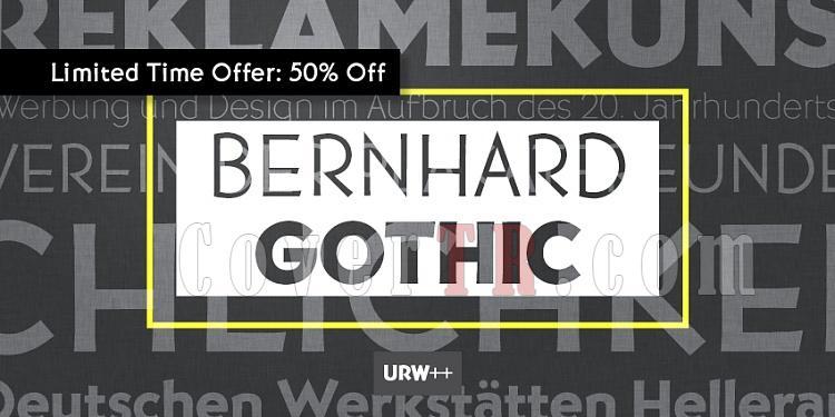 URW Bernhard Gothic (URW)-urwbernhard-gothicjpg