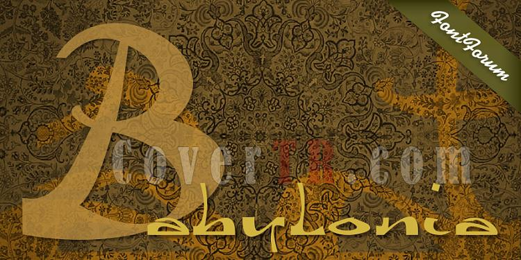 FontForum Beyond Babylon (URW)-fontforumbeyond-babylon_4jpg