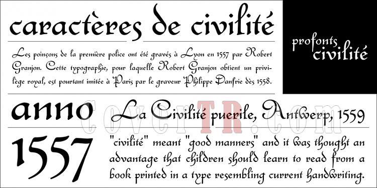 profonts Civilite (URW)-profontscivilitejpg
