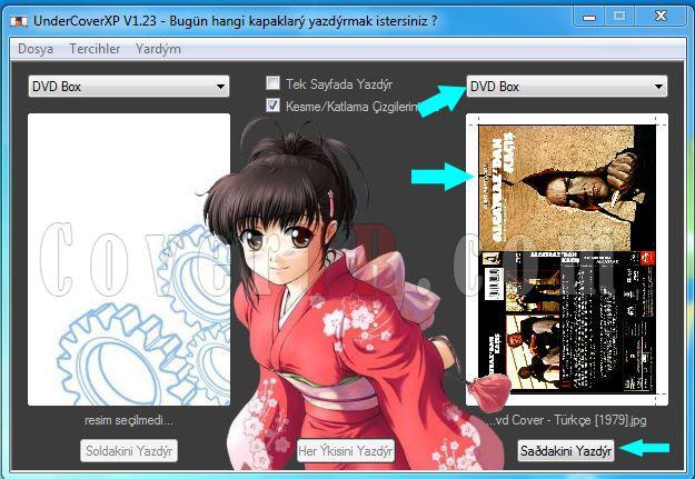 DVD Cover Baskı Boyutu-ekran-alintisijpg