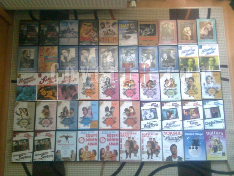 Orjinal Yerli Yabancı DVD Film Arşivim Toplu Satılık.-3jpg