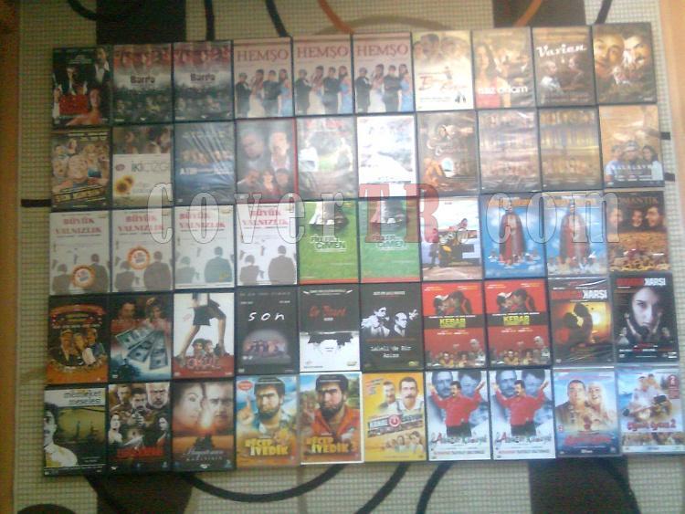 Orjinal Yerli Yabancı DVD Film Arşivim Toplu Satılık.-5jpg